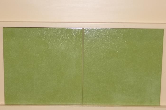 Wandtegels groene keuken gehoor geven aan uw huis - Groene metro tegels ...